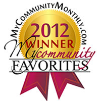Roswell My Community Monthly Award 2012